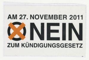 Nein zum Ausstieg - Volksabstimmung über das S21-Kündigungsgesetz