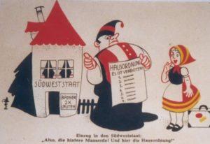 Abstimmung über den Südweststaat 1951 - Württemberger und Badener