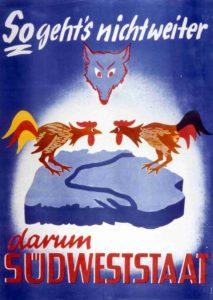 Streithähne in Baden und Württemberg - Abstimmung über den Südweststaat 1951