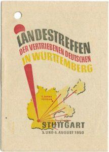 Landestreffen der vertriebenen Deutschen in Württemberg