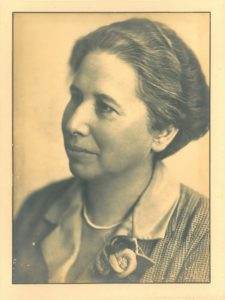 Frau Dr. Altmann-Gottheiner (Bildnachweis: Universitätsarchiv Mannheim)