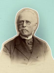 Moritz Ellstätter (Bildnachweis: Stadtarchiv Karlsruhe; Bearb.: HdGBW/Hemberger).