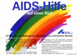 Aufklären und Hilfe leisten: Die Angebote der einzelnen Ortsgruppen listete die DAH in einer Broschüre auf (Bildnachweis: DAH).