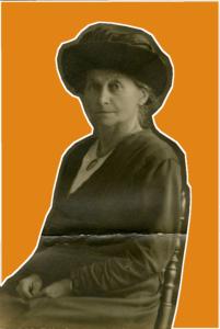 Wahlrechtlerin und Politikern: Mathilde Planck (Bildnachweis: Landesarchiv BW, Abt. Staatsarchiv Ludwigsburg, Sign.: F 215 Bü 25; Bearb.: Hemberger).
