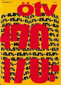 11% - mindestens aber 170 DM mehr brachte der Streik ((Bildnachweis: ÖTV-Magazin Nr. 3 (1974), ver.di-Archiv Berlin).