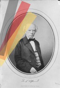 Drei Farben, eine Republik: Ludwig Uhland (Bearb. HdGBW/Hemberger)